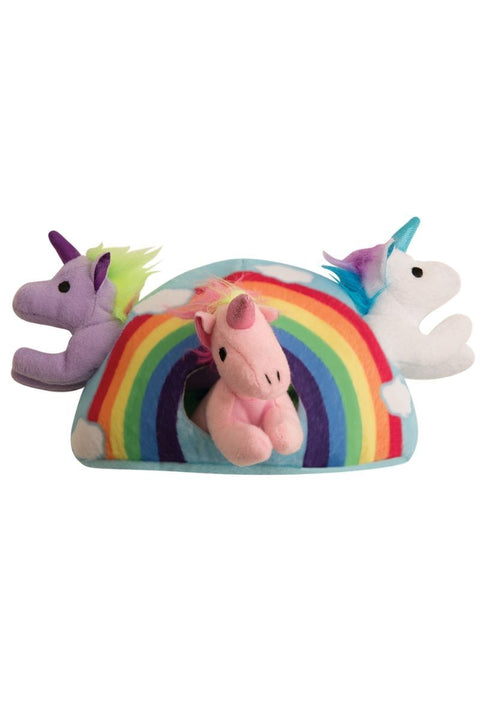 PRIDE Hide and Seek Rainbow Pet Toy