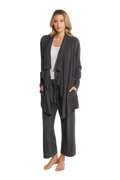The Cozychic Ultra Lite Hi-Lo Cardi - Carbon
