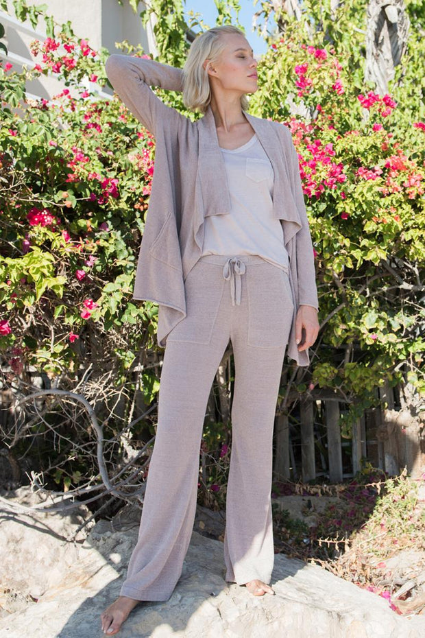 The Cozychic Ultra Lite Hi-Lo Cardi - Faded Rose