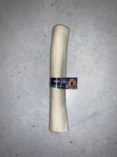 Pet Factory Rawhide Natural Beef Roll 10""