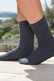Barefoot Dreams: CozyChic Men's Ribbed Socks