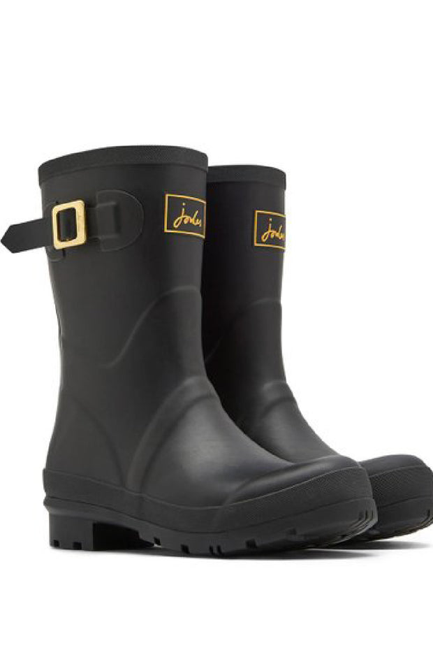 Joules Wellies | Molly Mid High: BLACK