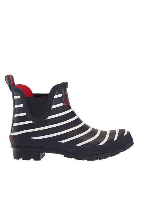 Joules Wellies | Wellibobs Short: Navy stripes