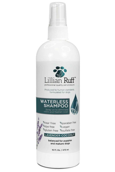 Lillian Ruff Premium Waterless Shampoo