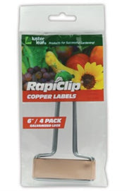 Luster Leaf Copper Plant Marker 10 pack