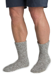 Barefoot Dreams: The Cozychic Heathered Men's Socks