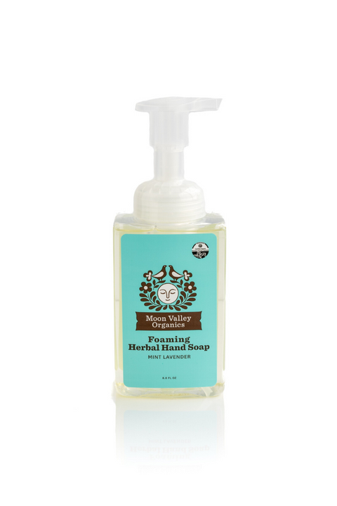 Foaming Herbal Hand Soap Mint lavender