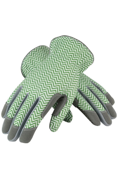 ZigZag Gloves Green
