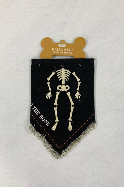 Skeleton Dog Bandana