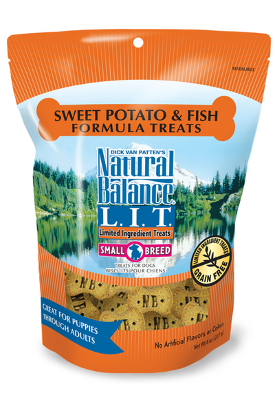 Limited Ingredient Treats® Sweet Potato & Fish Small Breed Formula