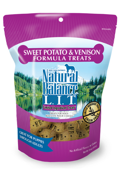 Limited Ingredient Treats® Sweet Potato & Venison Formula