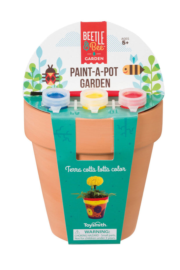 KIDS: Paint-A-Pot Garden