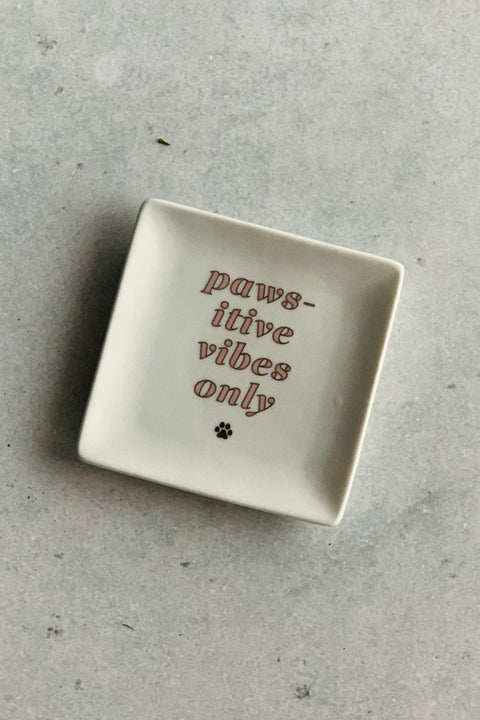 Paw-sitive Vibes Trinket Tray