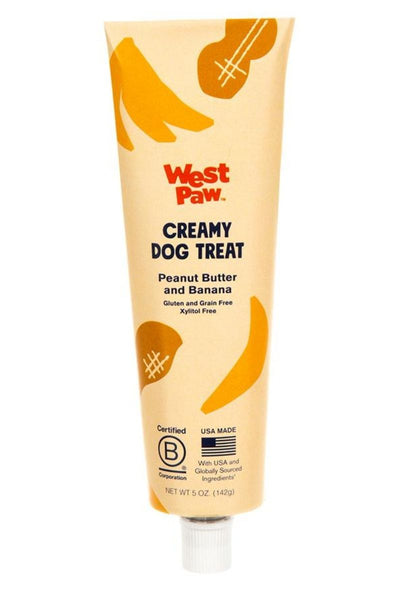 West Paw Peanut Butter & Banana Creamy Treat