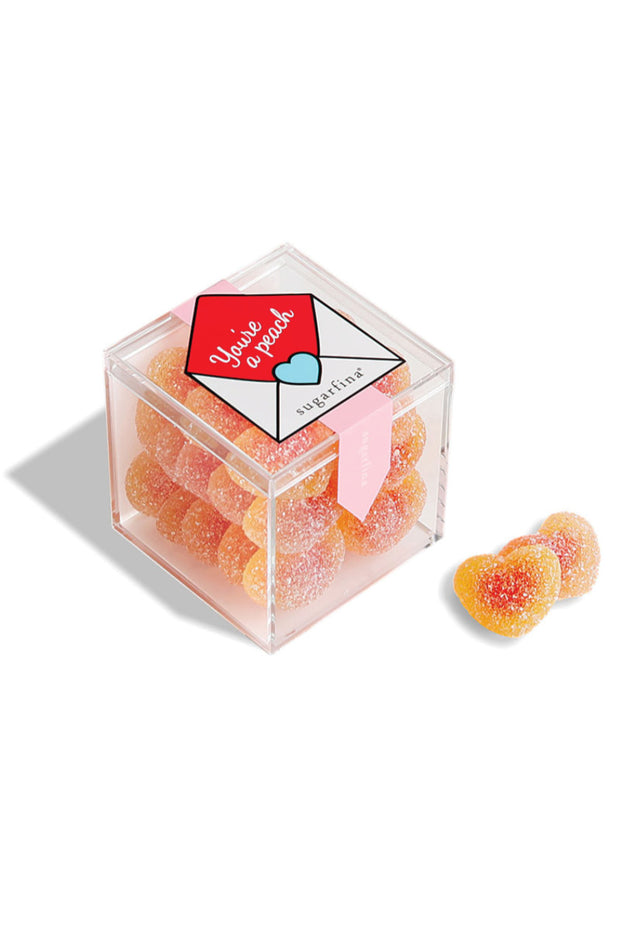 "SUGARFINA ""You're a Peach"" Peach Bellini Candy Cube"