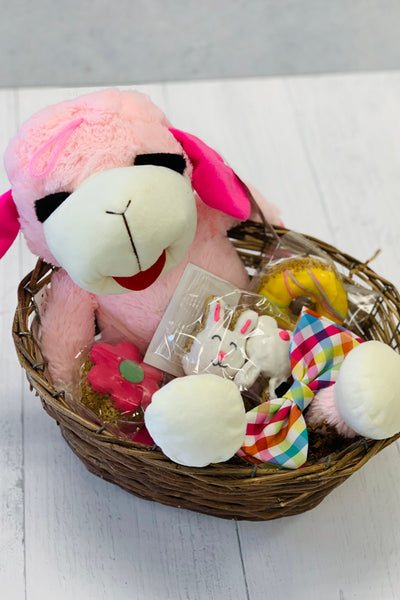 The Pink Pet Easter Basket