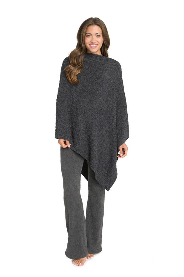 The Cozychic Lite Cable Poncho