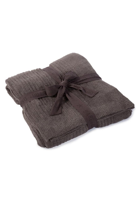 Barefoot Dreams: The CozyChic Lite Ribbed Throw Blanket