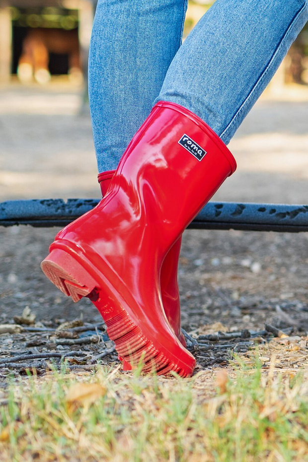 Roma, Emma Mid Red Women's Boots