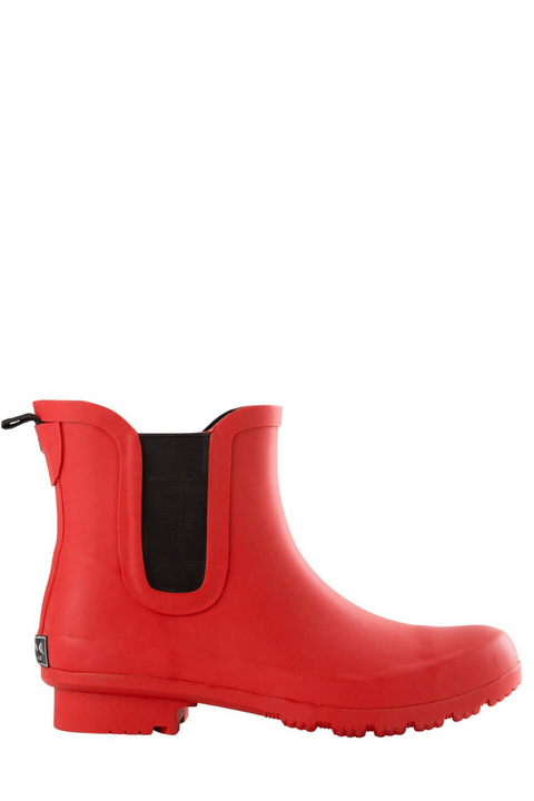 Roma, Chelsea Matte Red Women's Rain Boots