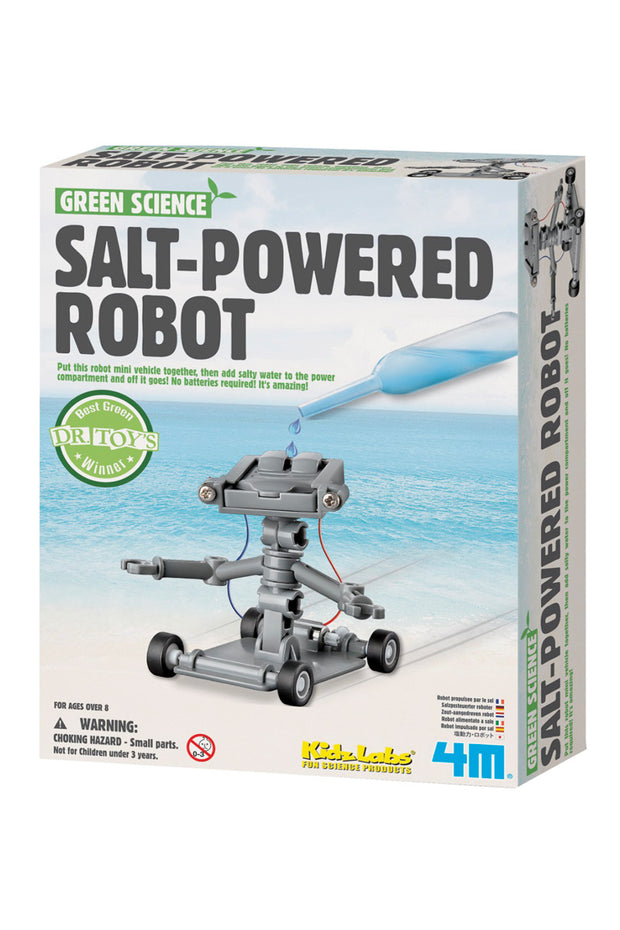 Kids: Green Science Salt Powered Robot