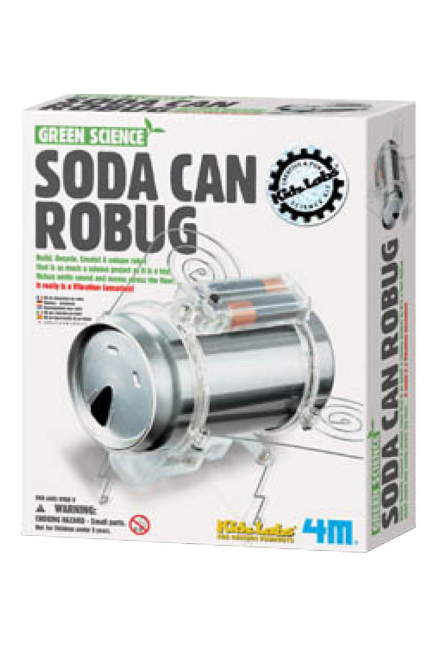 KIDS: Soda Can Robug