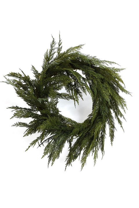 Soft Cedar Wreath