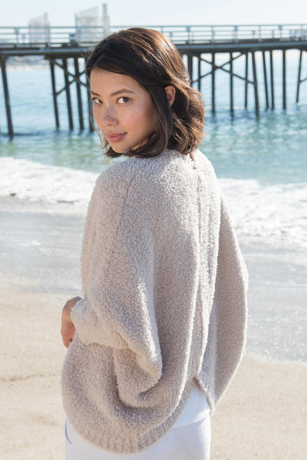 Barefoot Dreams: The Cozychic Shrug - Stone