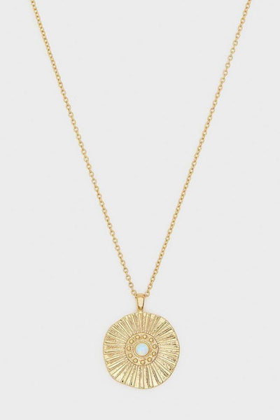 Gorjana, Sunburst Coin Necklace