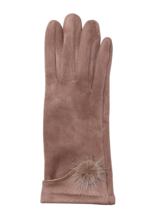Jackie Women's Winter Gloves - Tan