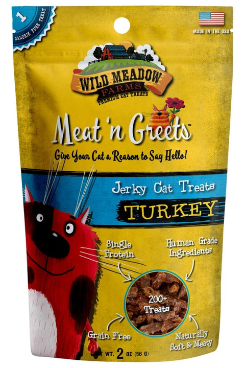 Wild Meadows Farm Meat N' Greets Turkey Cat Treats
