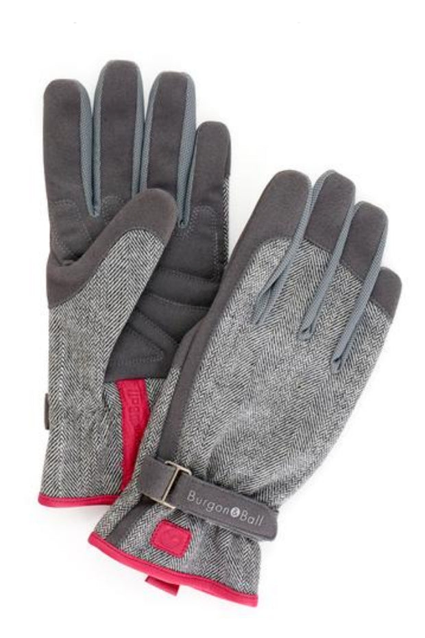Love The Glove - Gardening Glove in Tweed Print
