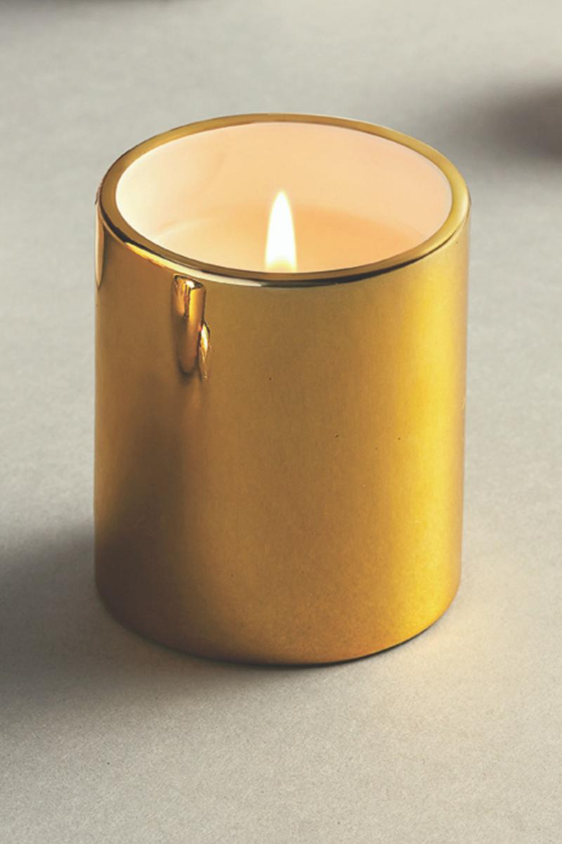 Candle, Fraser Fir Gold Votive