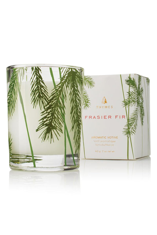 Thymes Frasier Fir Votive Pine Candle