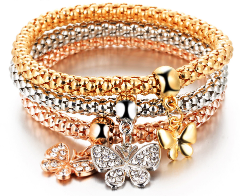 11 Charming Bracelets. Fun to Wear & Fun to Read About. FREE-Just Pay Shipping.