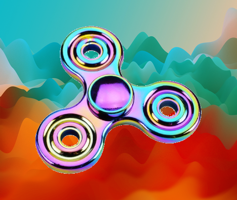 traditional fidget spinner