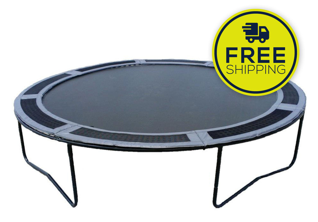 14' VPS Trampoline With Vented Pad
