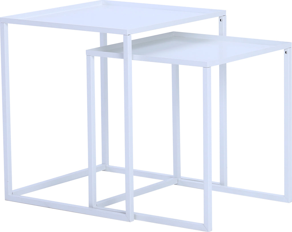 CARIAD Nest of Tables - White Colour