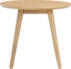 ORINGO Side Table - Round - Oak