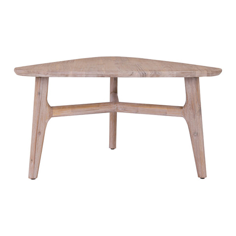 CORBIN Coffee Table - Acacia Solid Wood - Havana Sandblast Colour