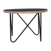 NARESH Coffee Table - Oval - Black