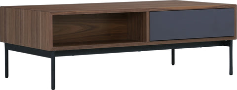 MILLER 120cm Rectangular Walnut Coffee Table
