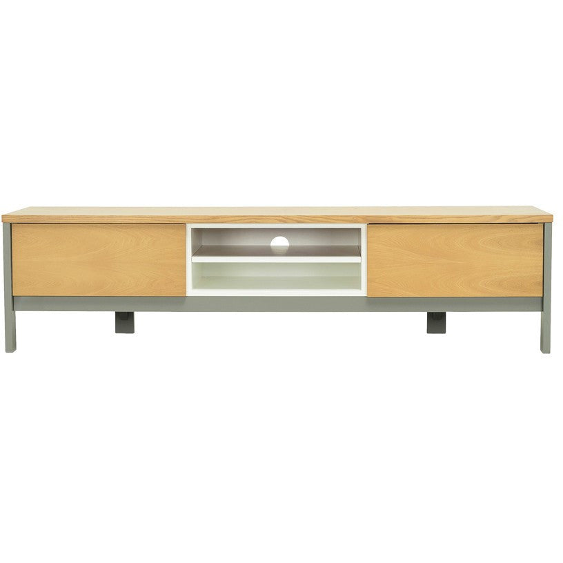 Jarvy TV Entertainment Unit in Natural Finish