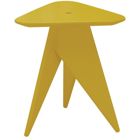 Trianna Stool in Olive Yellow