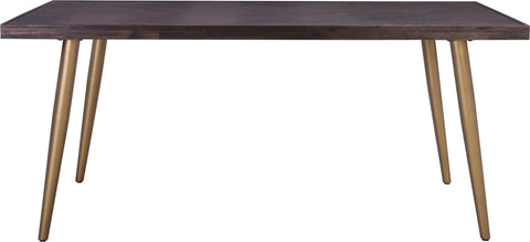 SIVAN Dining Table 180cm Acacia Solid Wood - Brown
