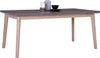 CORBIN Dining Table 180cm - Acacia Solid Wood - Havana Sandblast Colour
