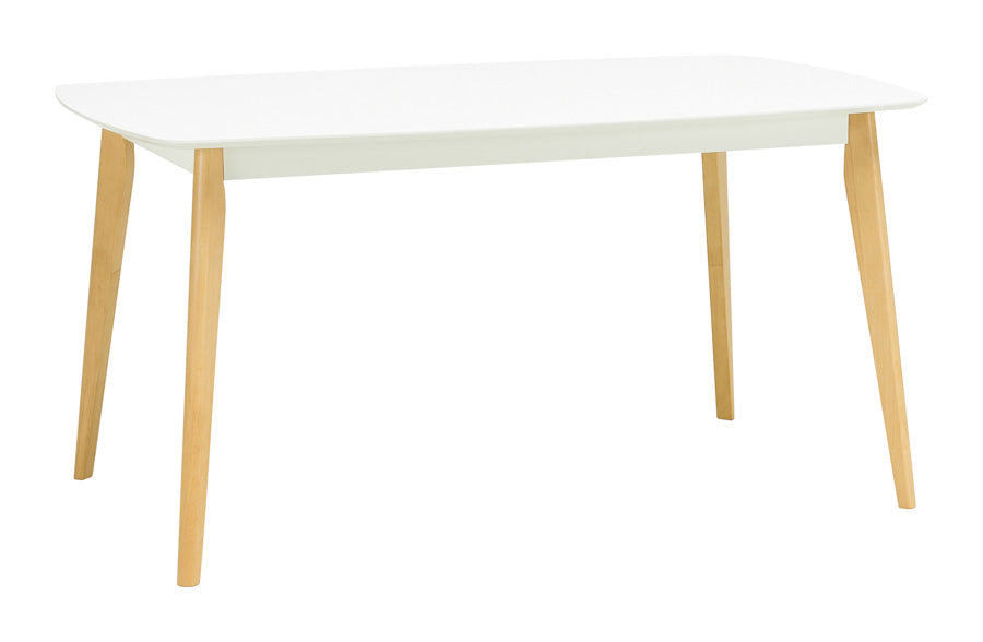 Arthur Dining Table in White - 1.5M
