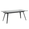 ARCHIE Glass Dining Table 180cm