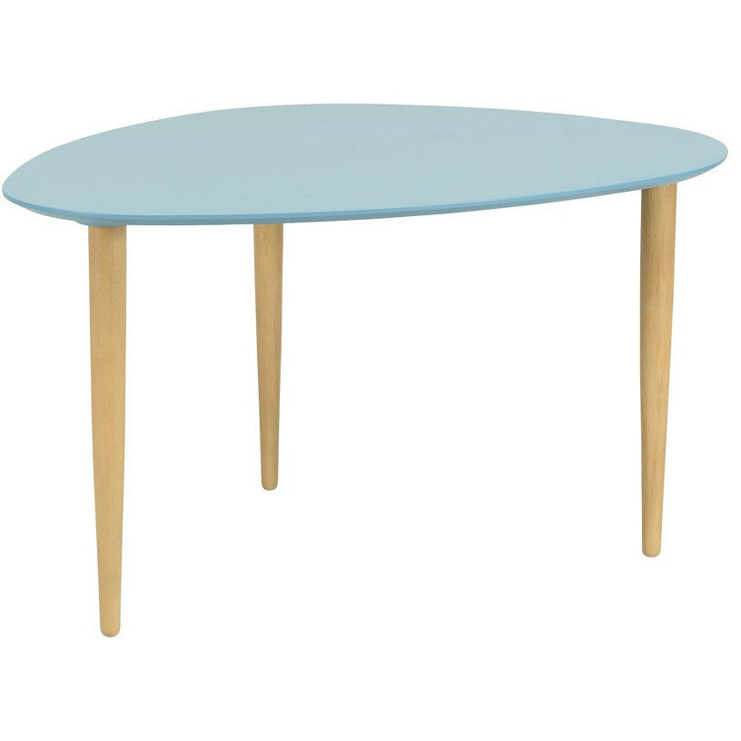 Corey High Occasional Table in Dust Blue
