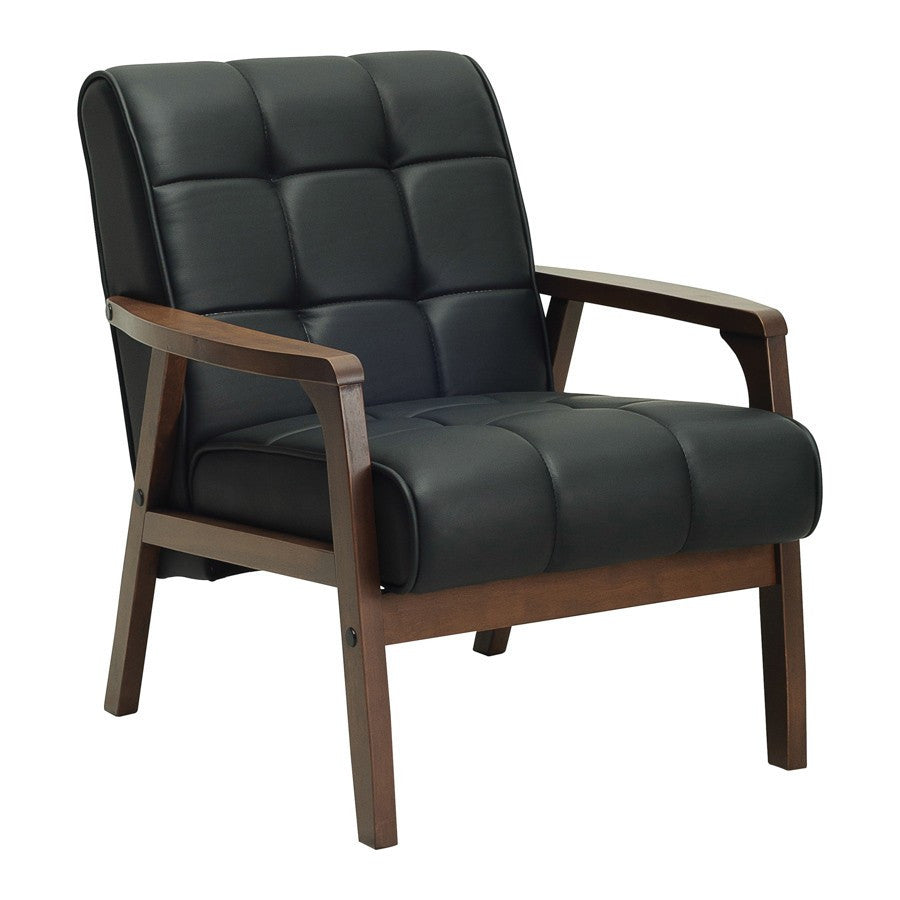 Tucson Armchair Sofa in Black